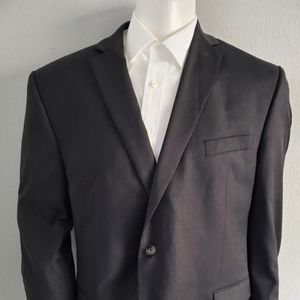 Calvin Klien Slim Fit Charcoal Grey Sport Coa 46R